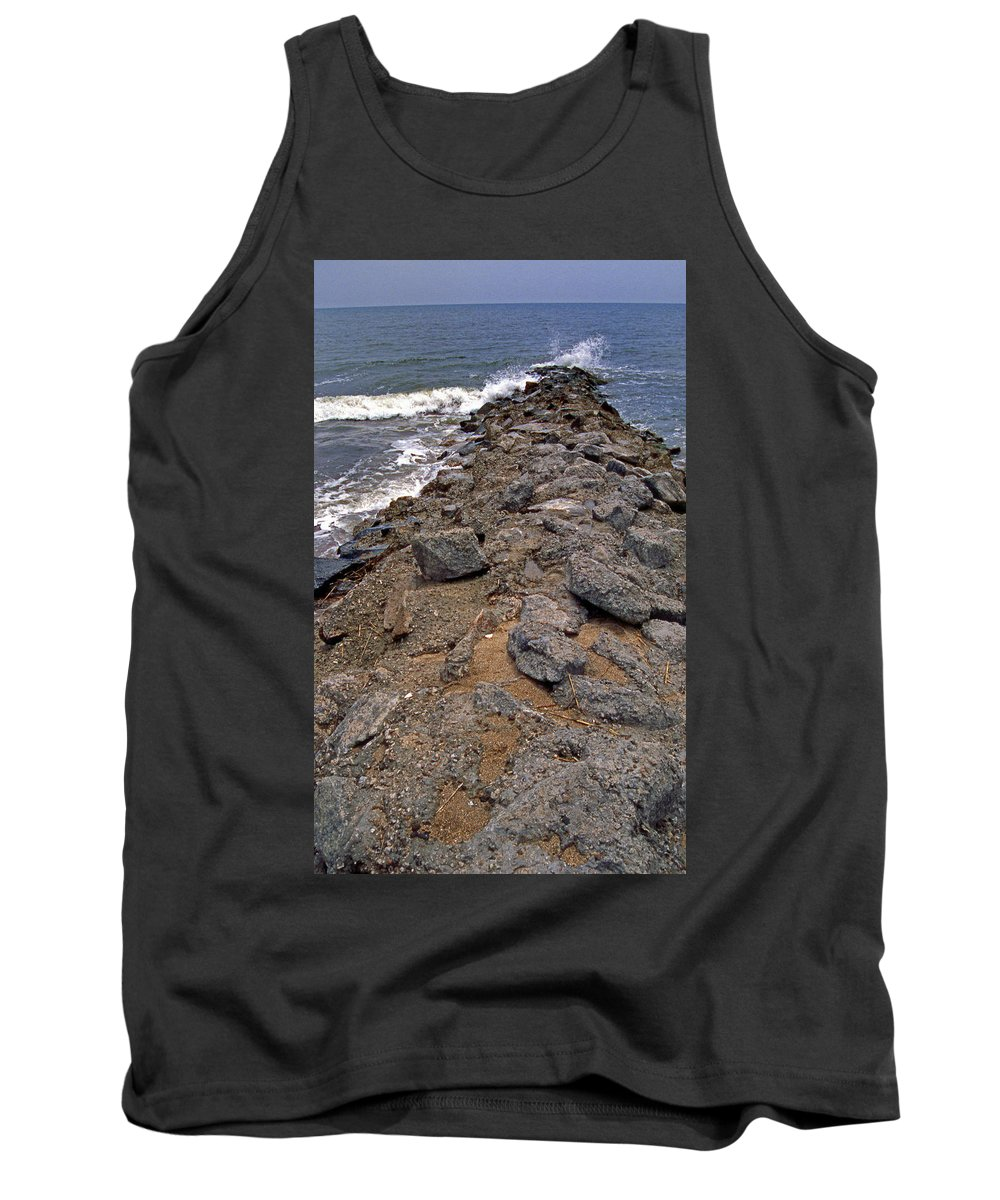 Scenic Tours Tank Top featuring the photograph Sea Finger by Skip Willits