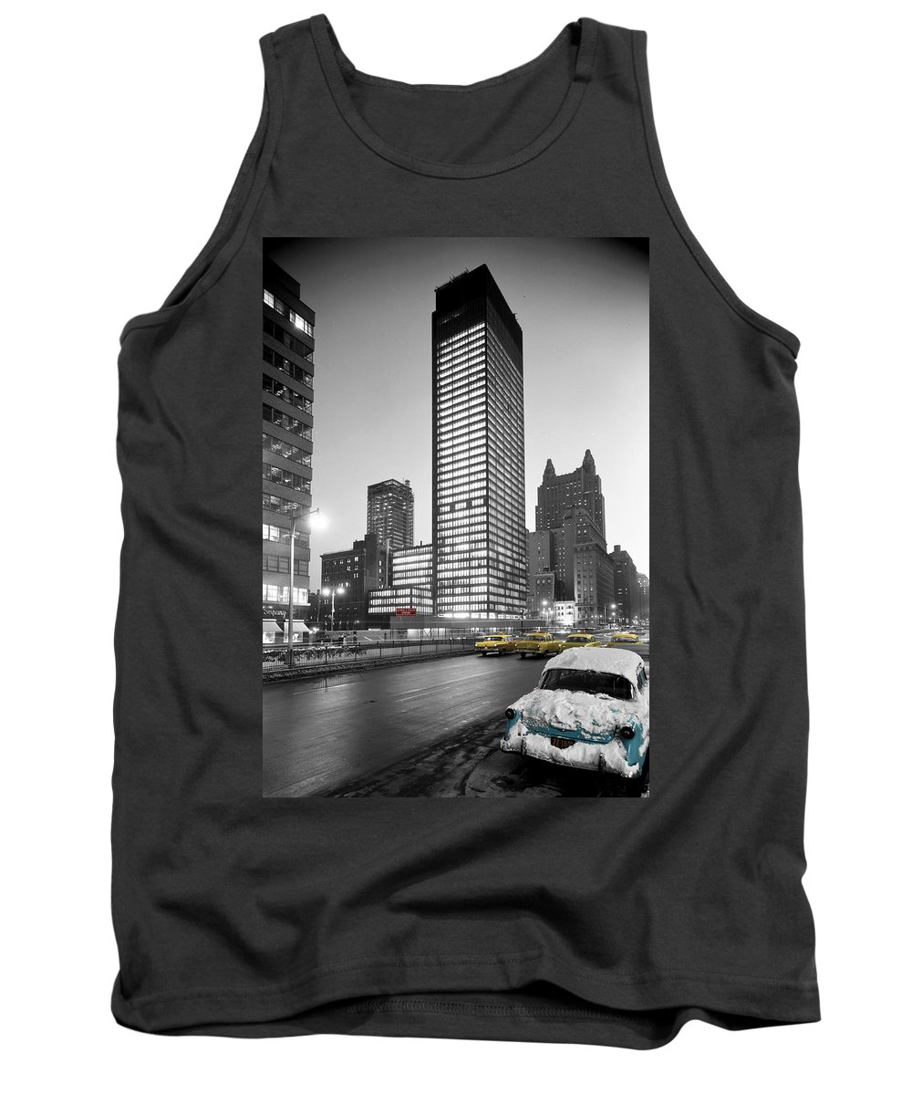 New York Tank Top featuring the photograph Seagram Building by Andrew Fare