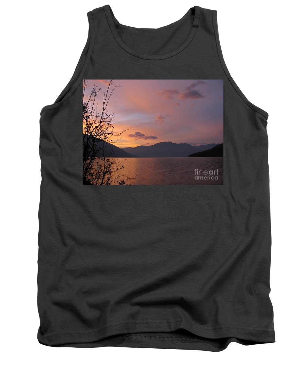 Kootenay Tank Top featuring the photograph Serenity by Leone Lund