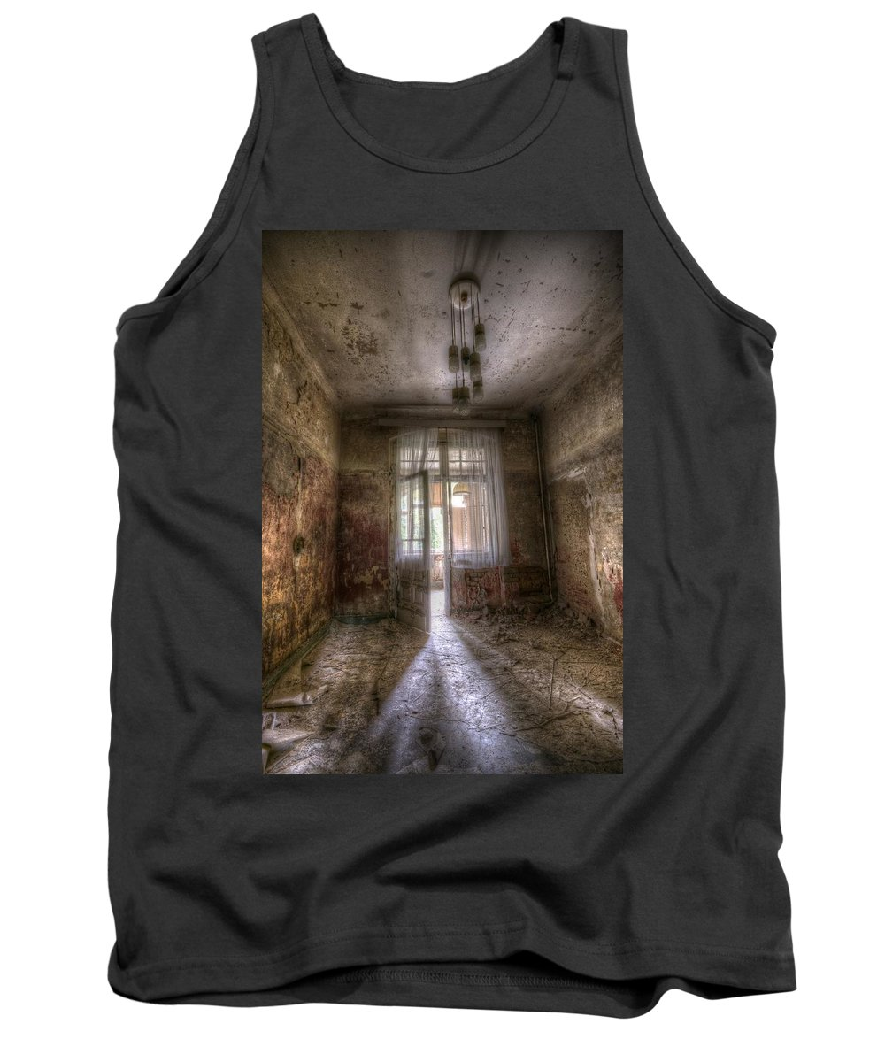 German Tank Top featuring the digital art Shadow Of Its Forma Self by Nathan Wright