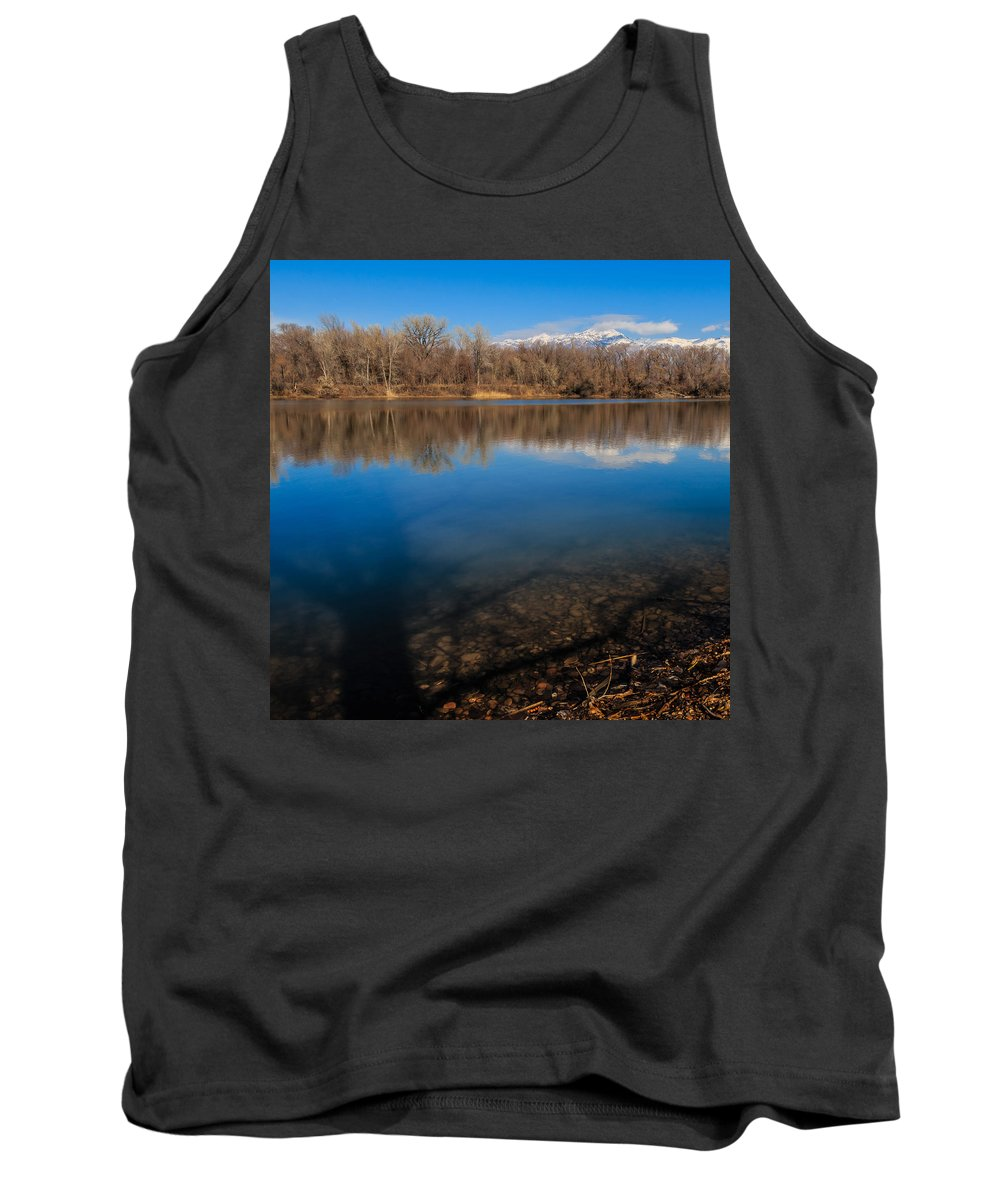 Gigimarie Tank Top featuring the photograph Shadows by Gina Herbert