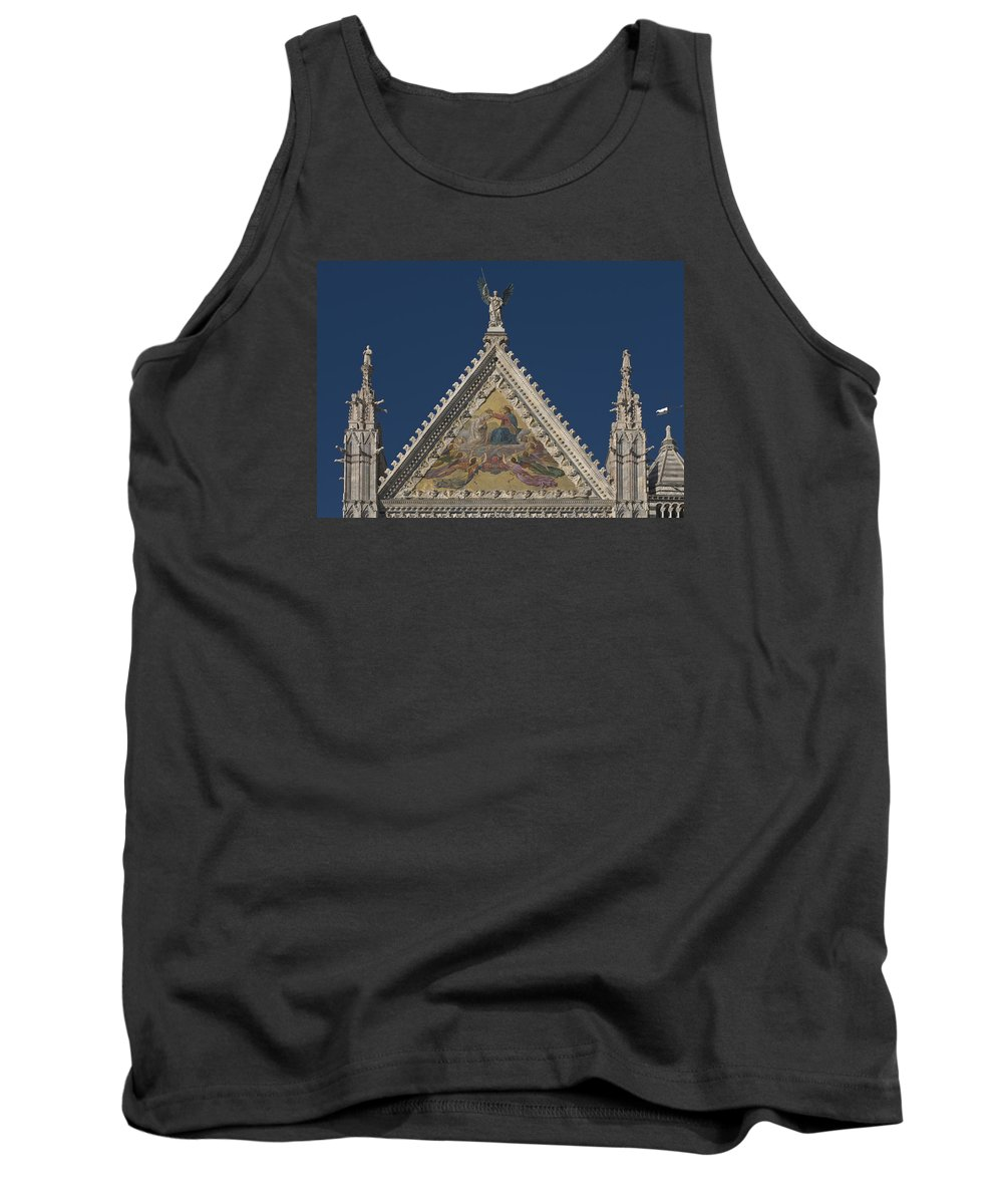 Siena Cathedral Tank Top featuring the photograph Siena Cathedral by Ayhan Altun