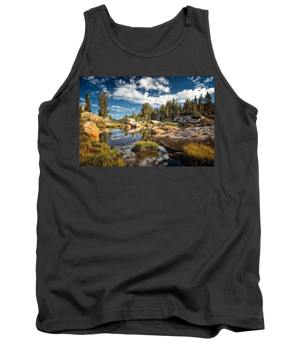 John Muir Trail Tank Top featuring the photograph Simple Life by Shauna Milton