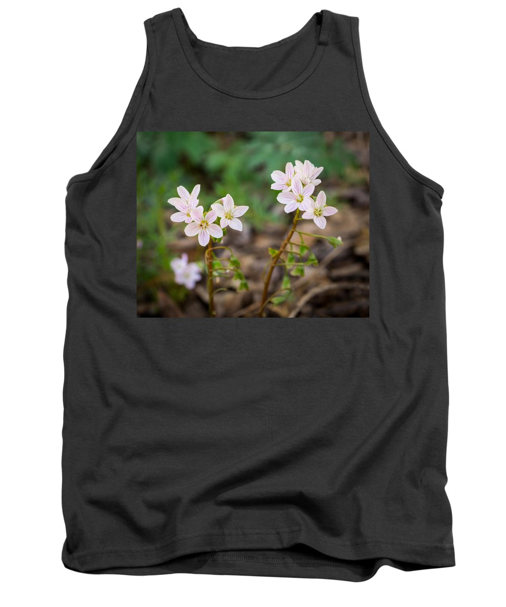 Wildflower Tank Top featuring the photograph Sisterhood by Bill Pevlor