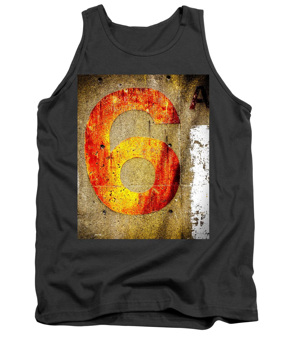 Six Tank Top featuring the photograph Six by Bob Orsillo