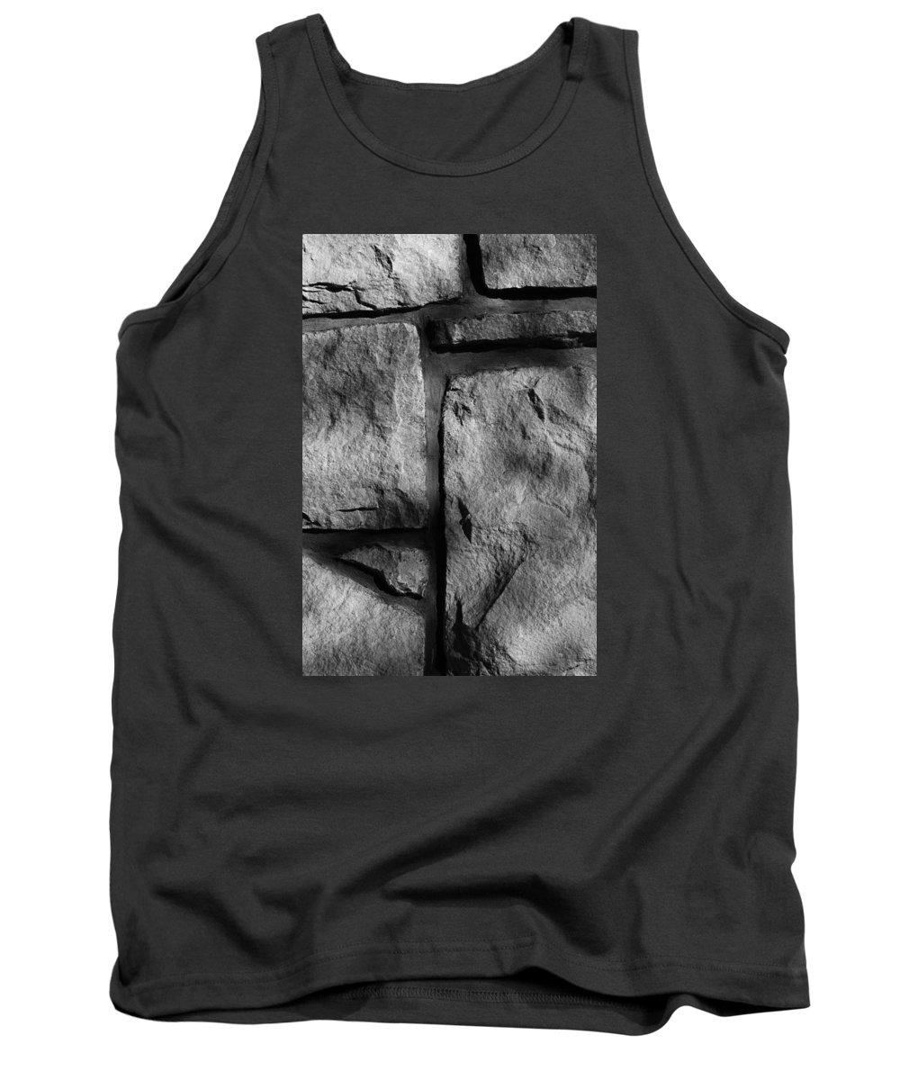 Abstract Tank Top featuring the photograph Skc 0167 Textures And Lines by Sunil Kapadia