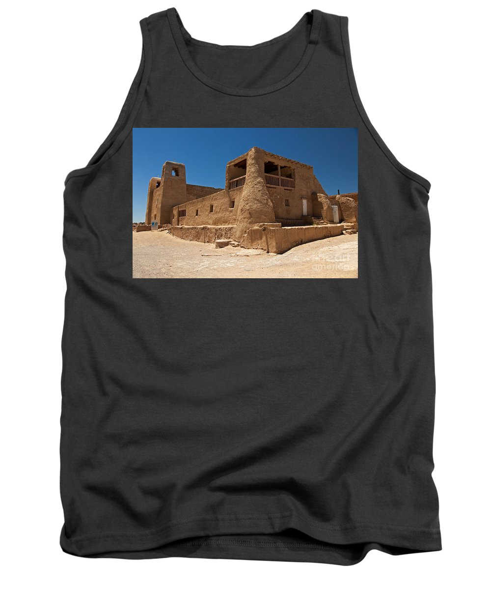 Acoma Tank Top featuring the photograph Sky City Acoma Pueblo by Fred Stearns