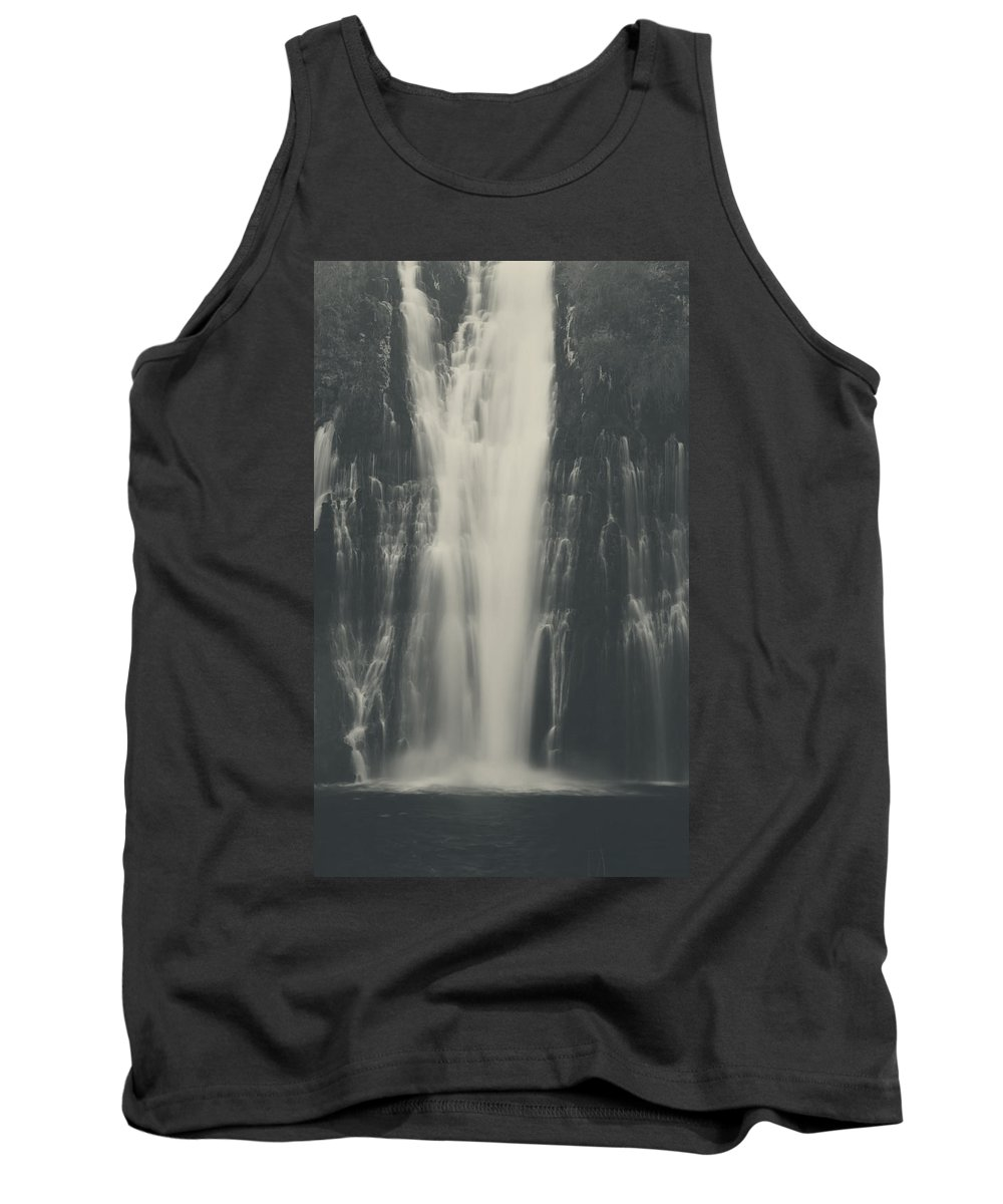Burney Falls State Park Tank Top featuring the photograph Smooth by Laurie Search