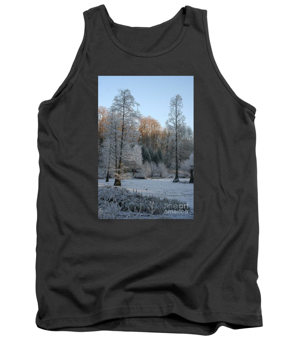 Snow Tank Top featuring the photograph Winter Landscape by Christiane Schulze Art And Photography