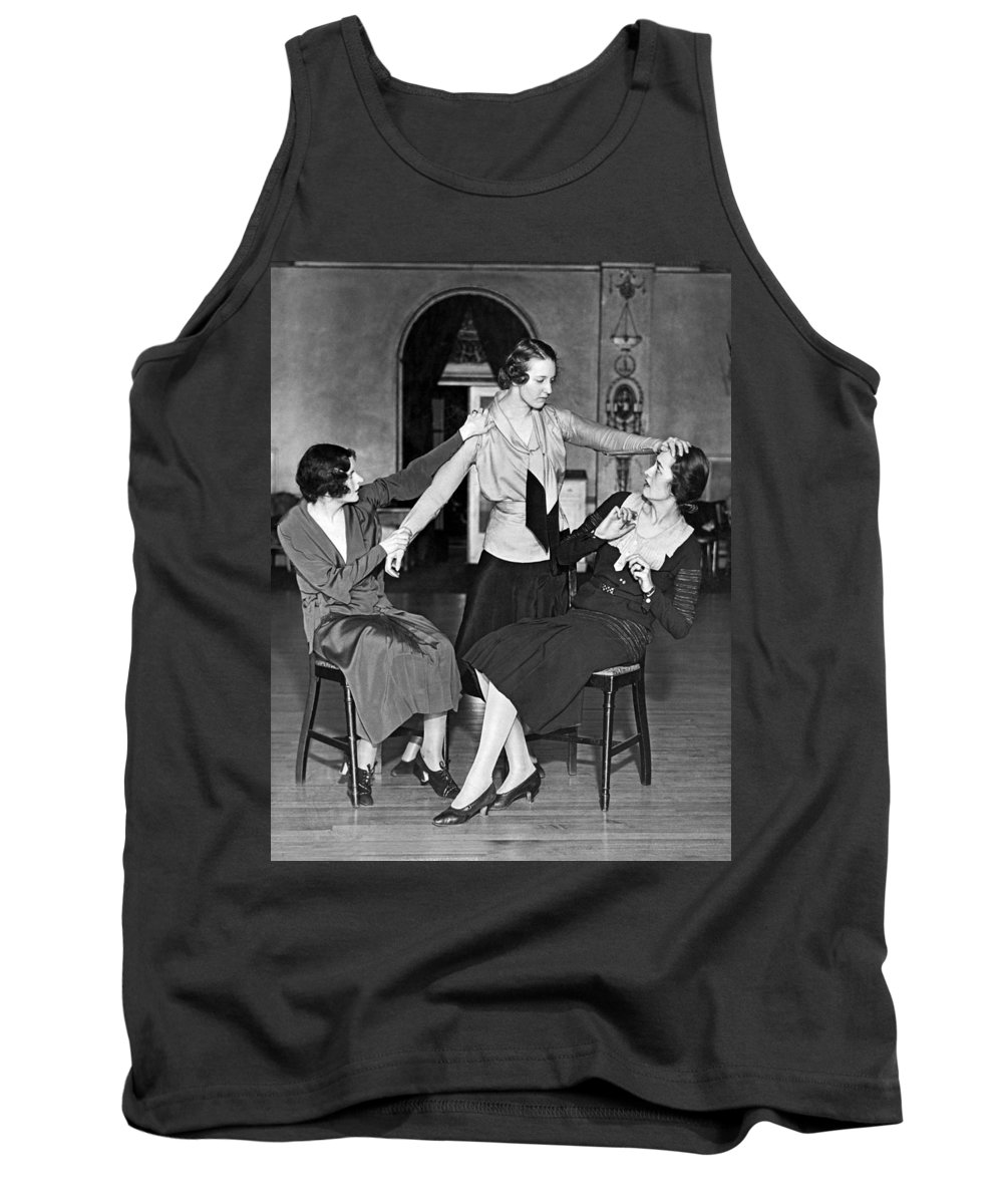 1931 Tank Top featuring the photograph Society Women In Benefit Play by Underwood Archives