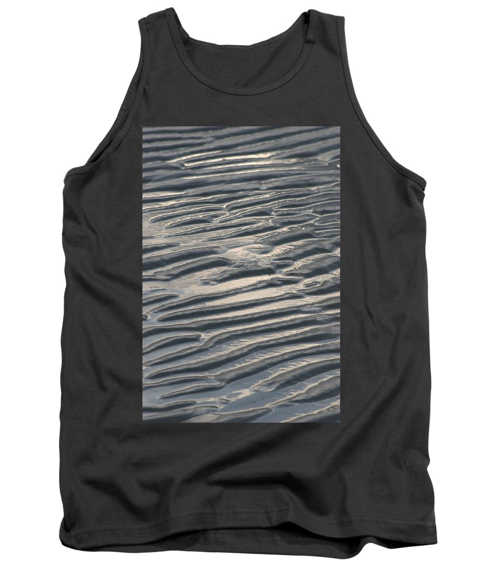 Soft Tank Top featuring the photograph Soft Ripples by DJ Florek