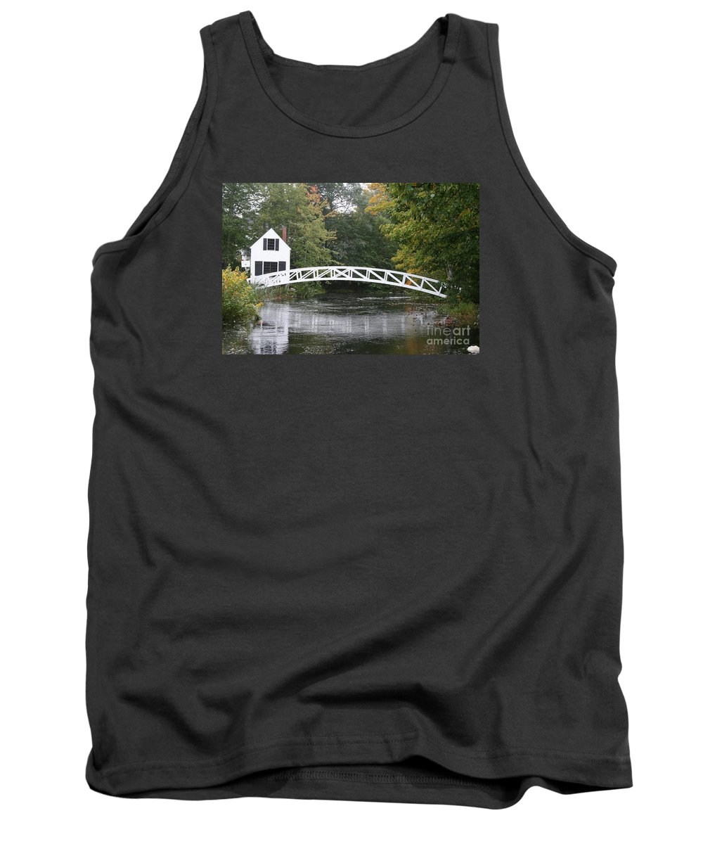 Bridge Tank Top featuring the photograph Somesville - Mount Dessert Island by Christiane Schulze Art And Photography