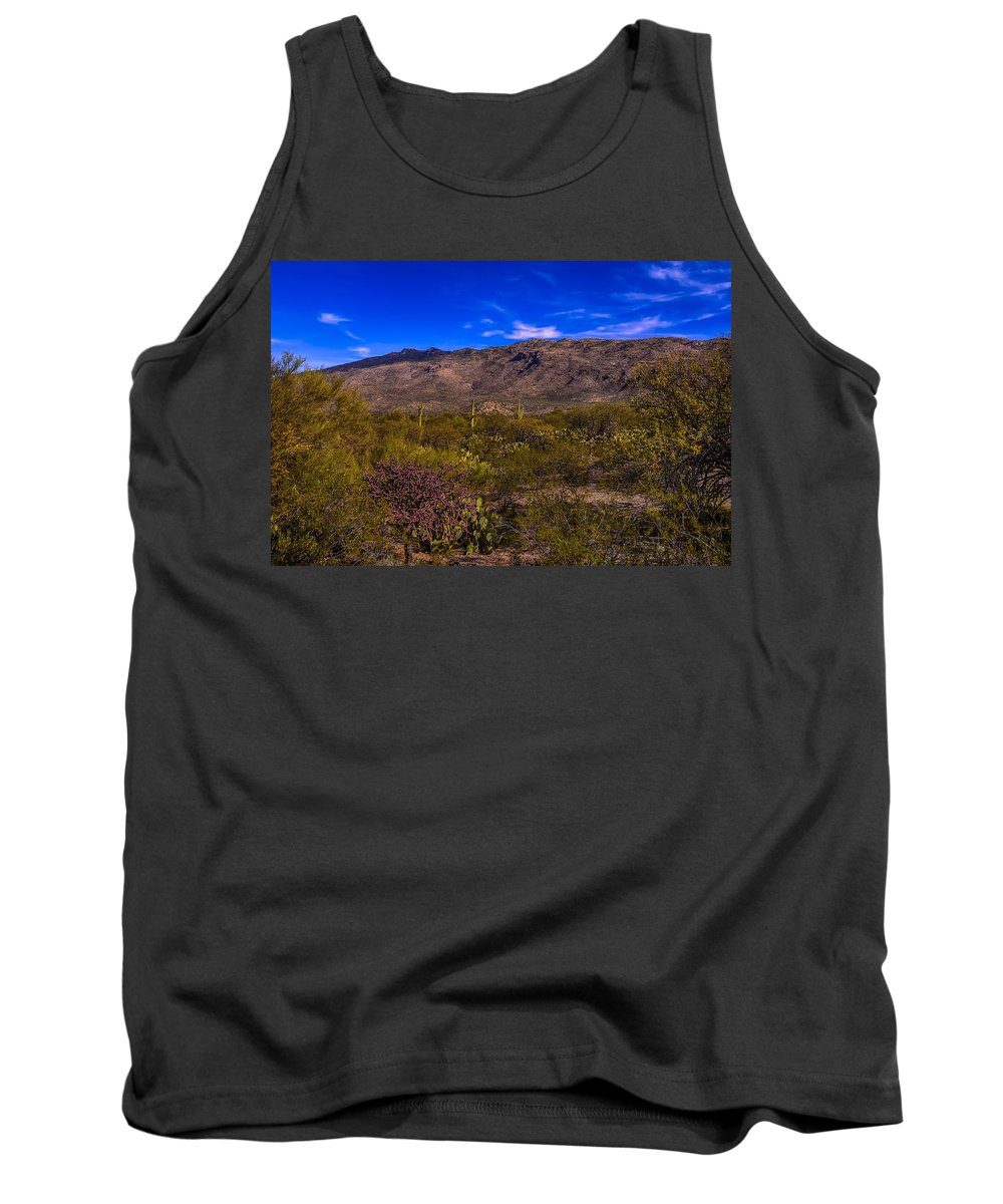 Arizona Tank Top featuring the photograph Southwest Salad No.11 by Mark Myhaver