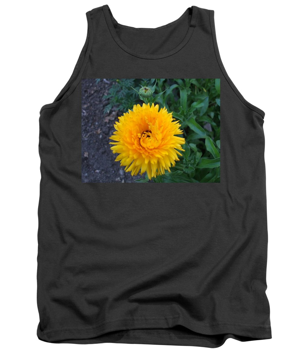 Floral Tank Top featuring the photograph Spiral by Jo Dawkins