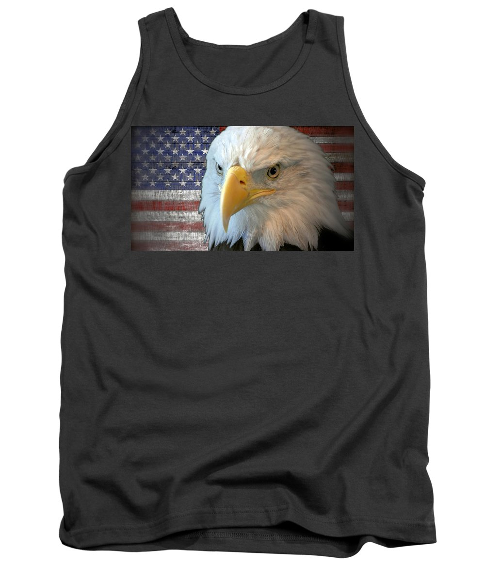 America Tank Top featuring the photograph Spirit Of America by Bonfire Photography