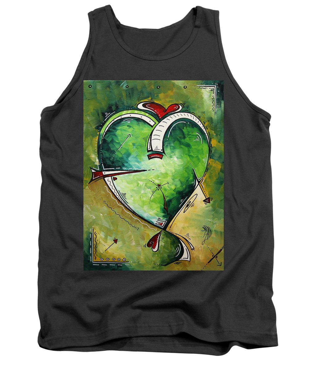Art Tank Top featuring the painting Spirit Of The Heart By Madart by Megan Duncanson