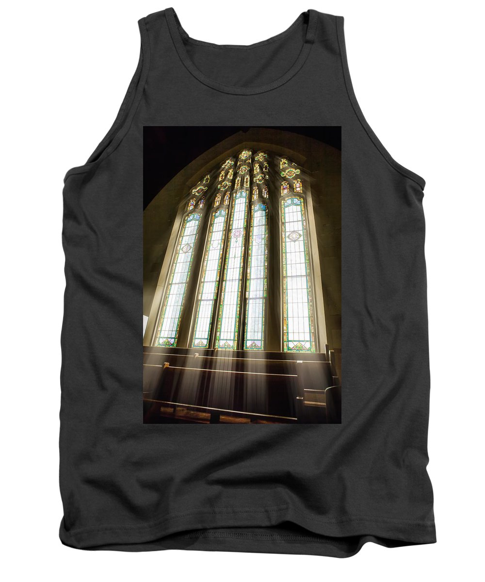 Spiritual Tank Top featuring the photograph Spiritual Connection Between God And Man by Sennie Pierson