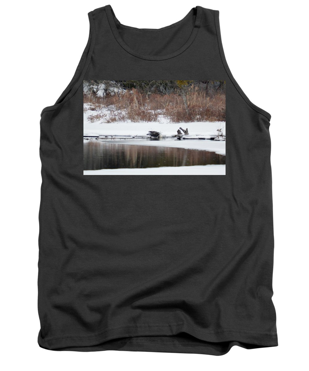 Bald Eagle Tank Top featuring the photograph Splash by Thomas Phillips