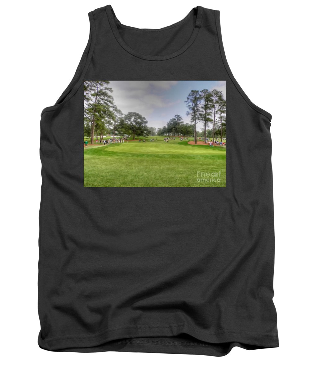 Masters Tank Top featuring the photograph Spoiling A Good Walk by David Bearden