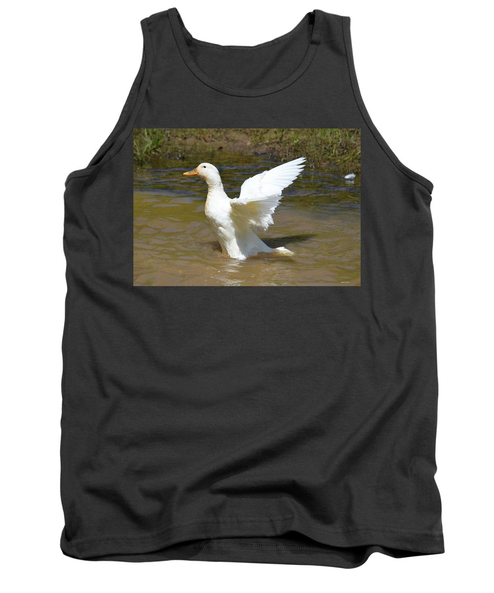 Spread Your Wings Tank Top featuring the photograph Spread Your Wings by Maria Urso