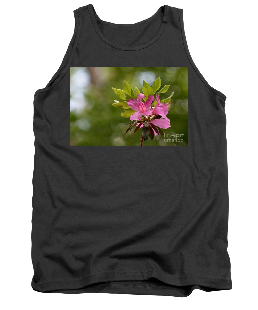 Rhododendrons Tank Top featuring the photograph Spring Awakening by Living Color Photography Lorraine Lynch