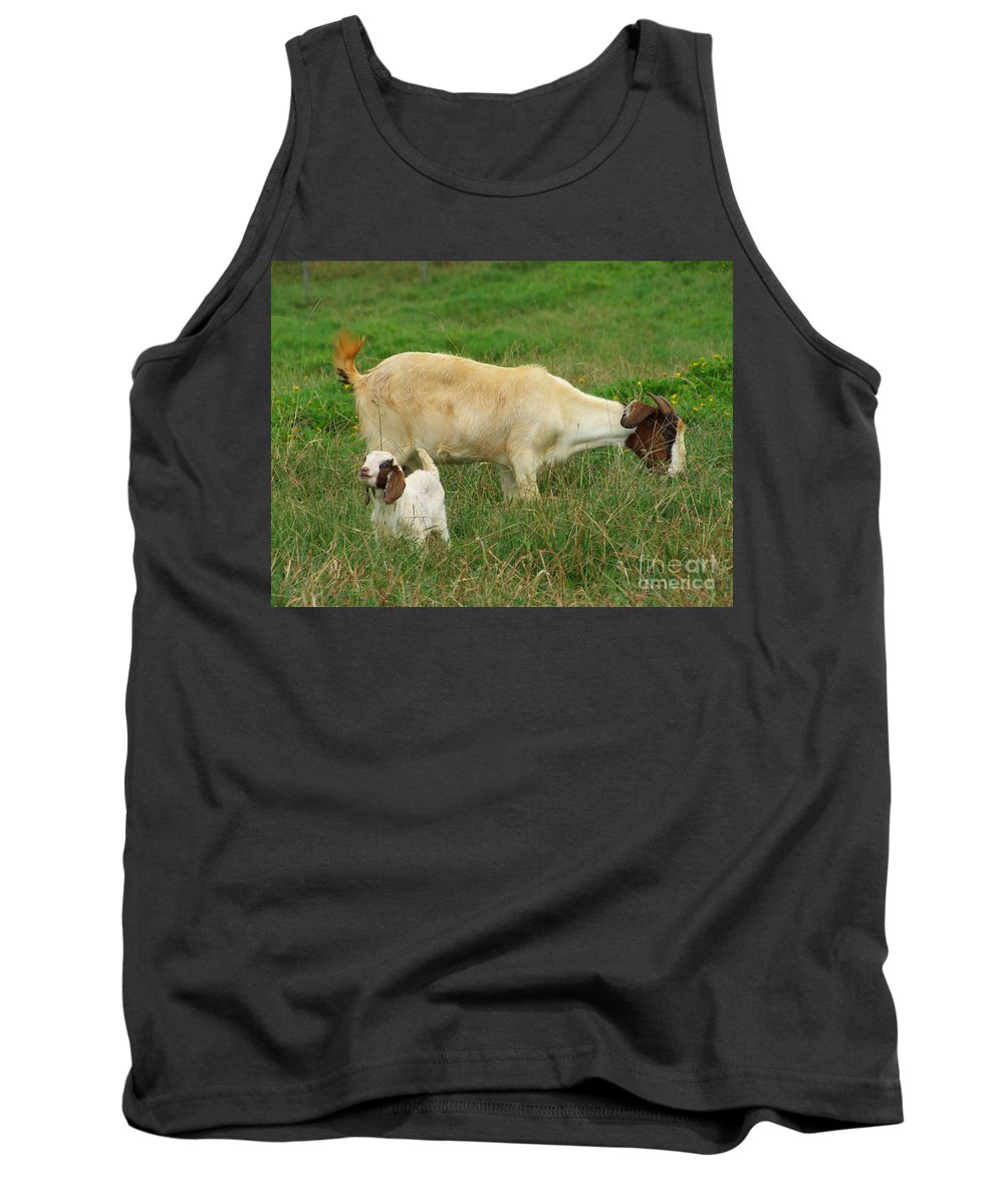 White Tank Top featuring the photograph Spring Born by Mary Deal