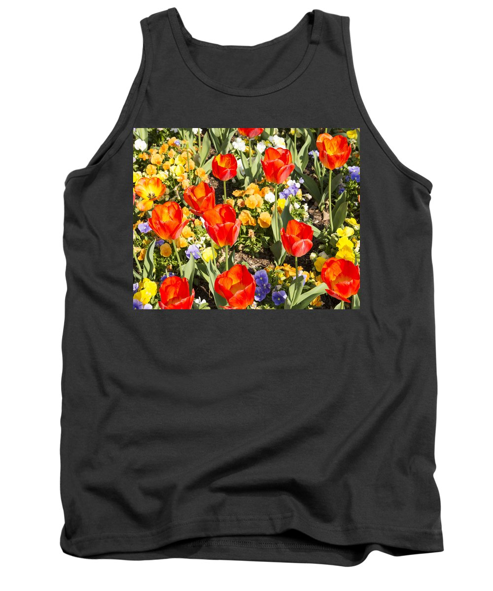 Spring Flowers Tank Top featuring the photograph Spring Flowers No. 5 by Greg Hager