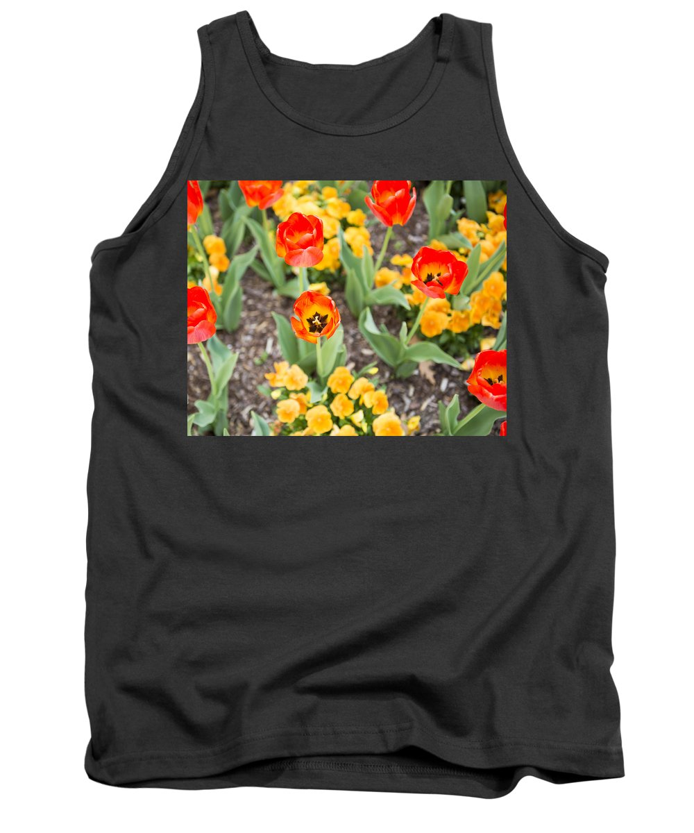 Spring Flowers Tank Top featuring the photograph Spring Flowers No. 6 by Greg Hager