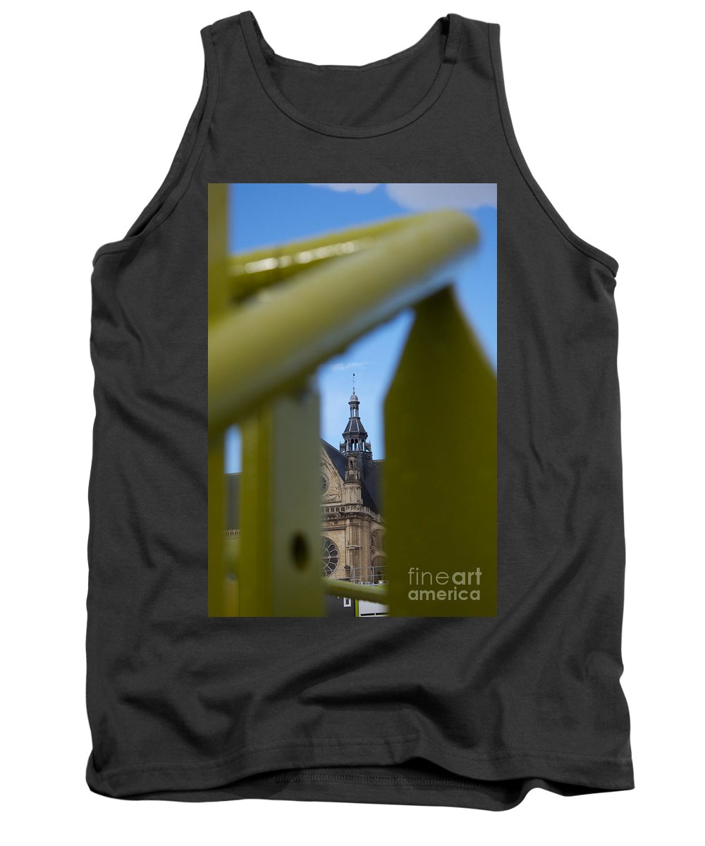 God Tank Top featuring the photograph Spying God by Donato Iannuzzi