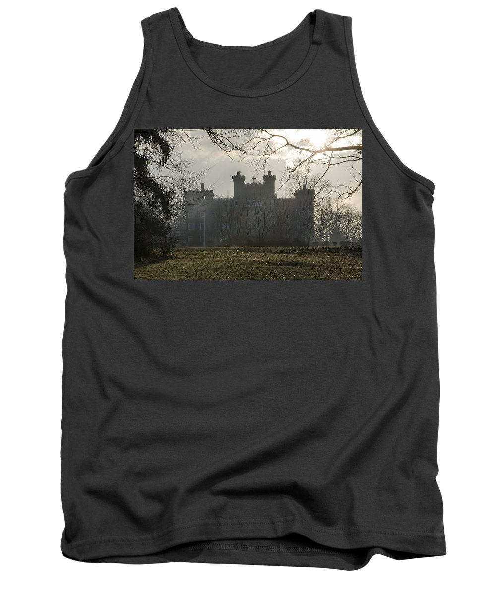 St Marys Tank Top featuring the photograph St Marys Villa For Children In Ambler by Bill Cannon