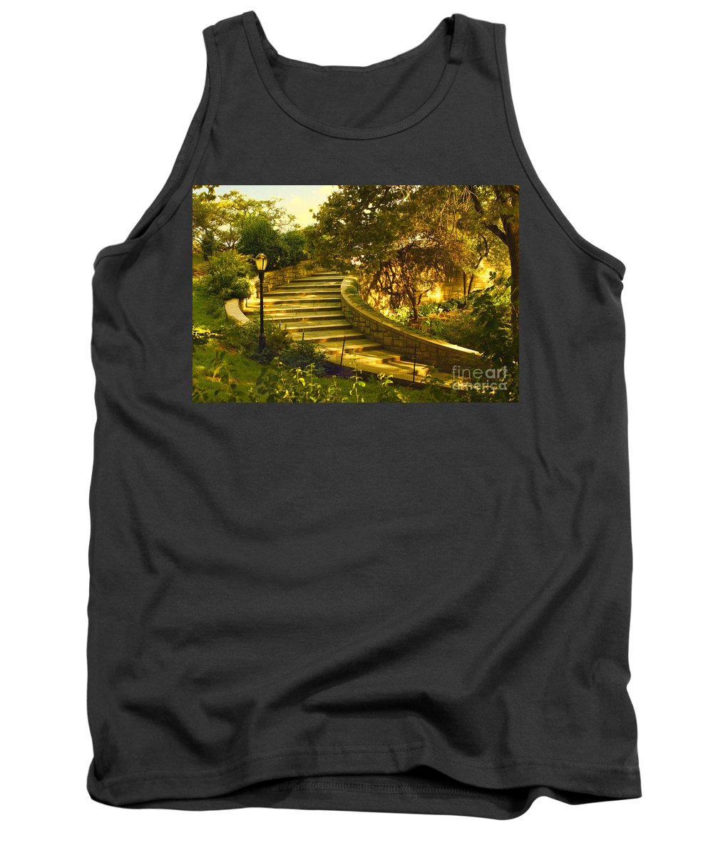 Park Tank Top featuring the photograph Stairway To Nirvana by Madeline Ellis