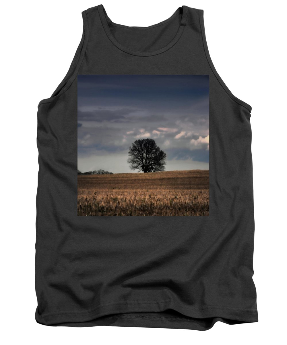 Tress Tank Top featuring the photograph Stand Alone by Kristie Bonnewell