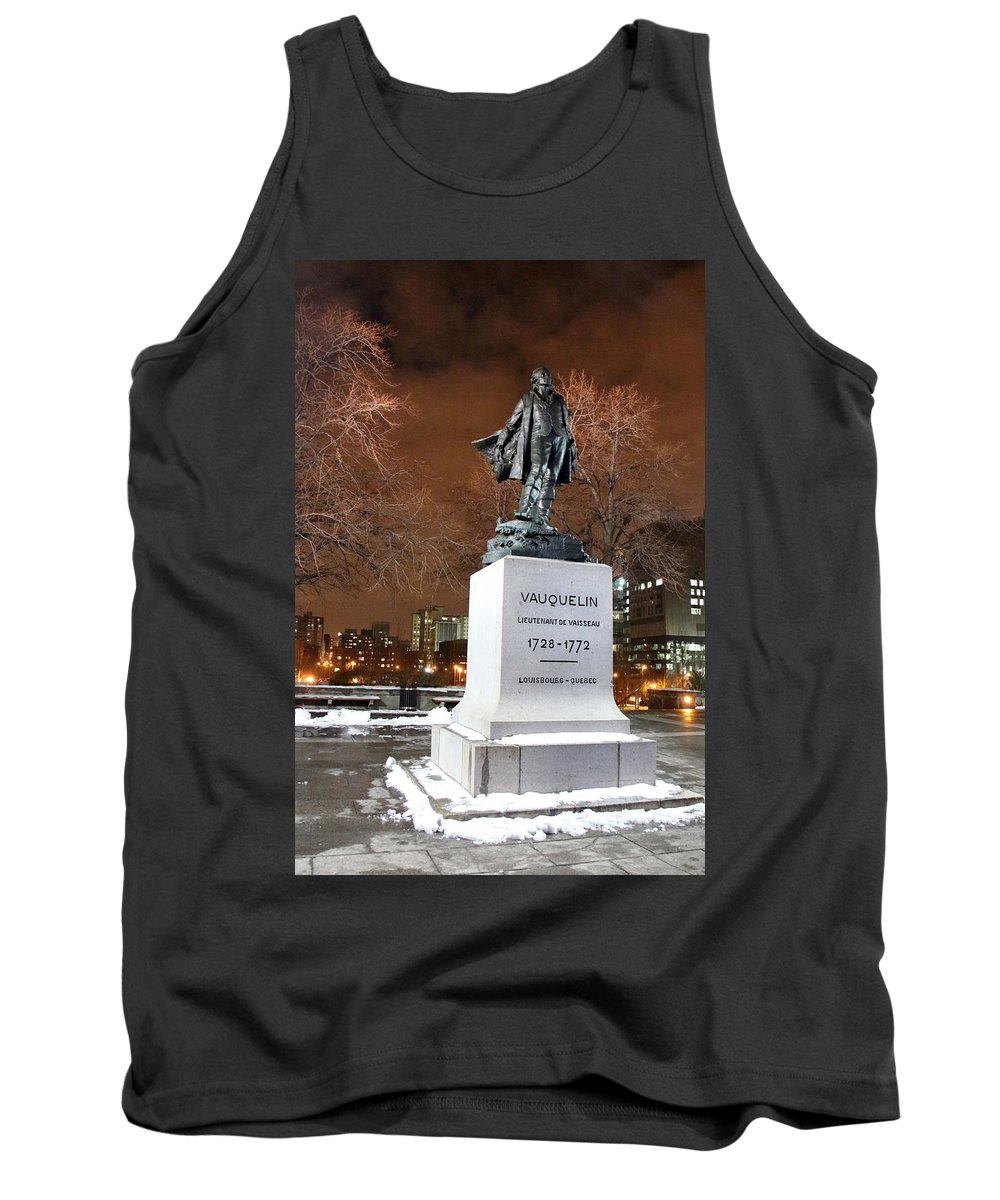 Night Photography Tank Top featuring the photograph Standing Tall by Munir Alawi