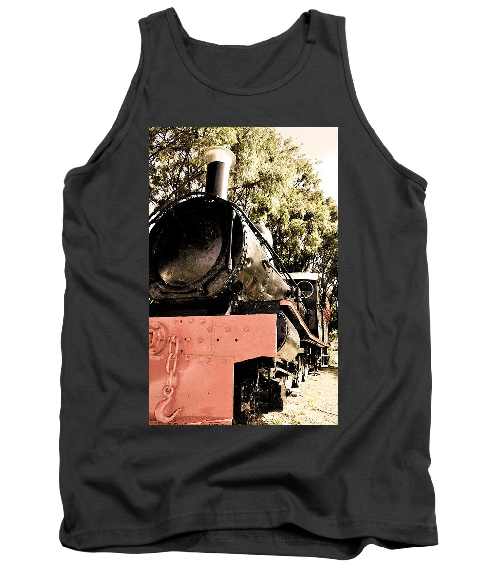 Old Tank Top featuring the photograph Steamer by Phill Petrovic