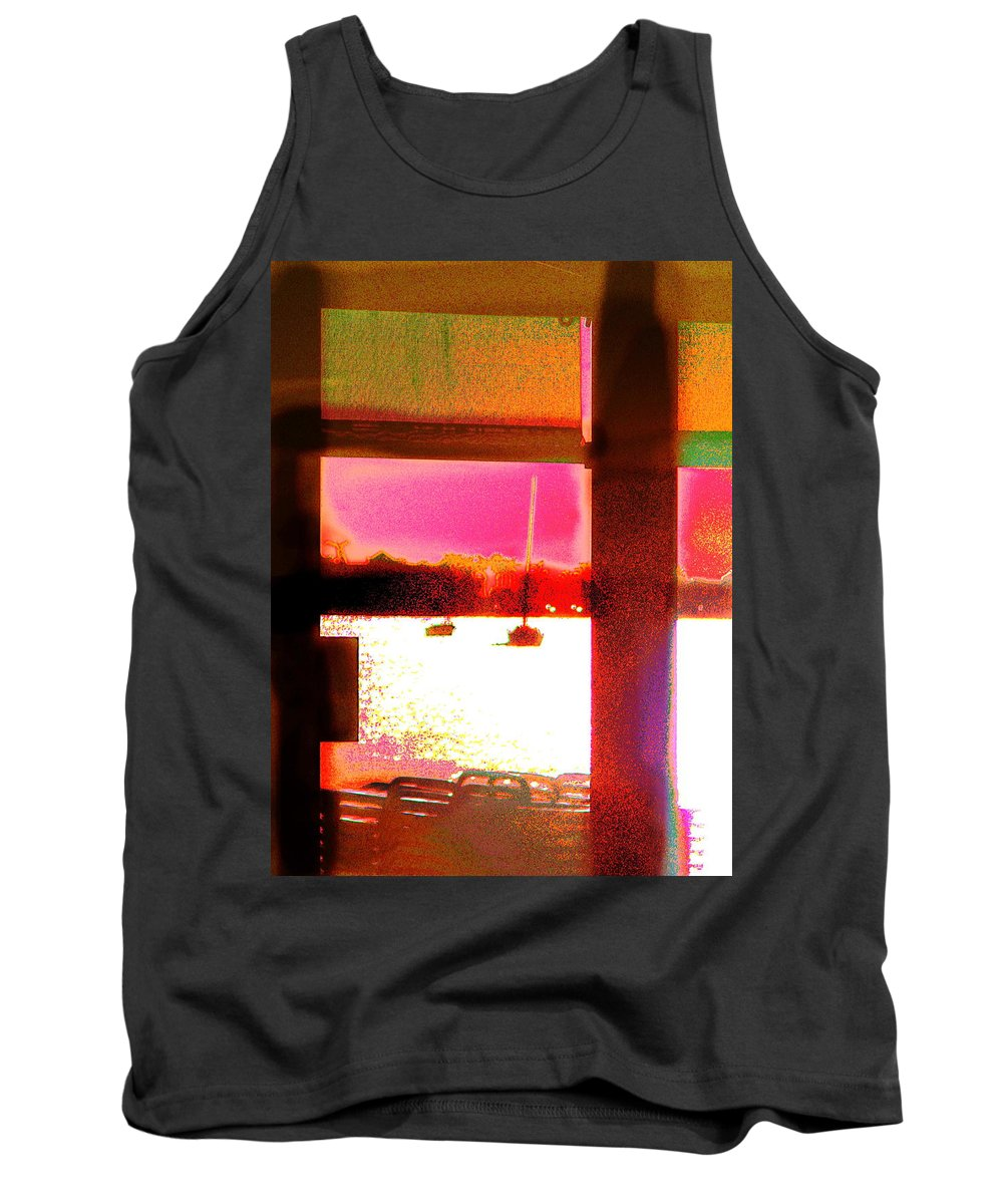 Seascape Tank Top featuring the photograph St.maartin Two by Expressionistart studio Priscilla Batzell