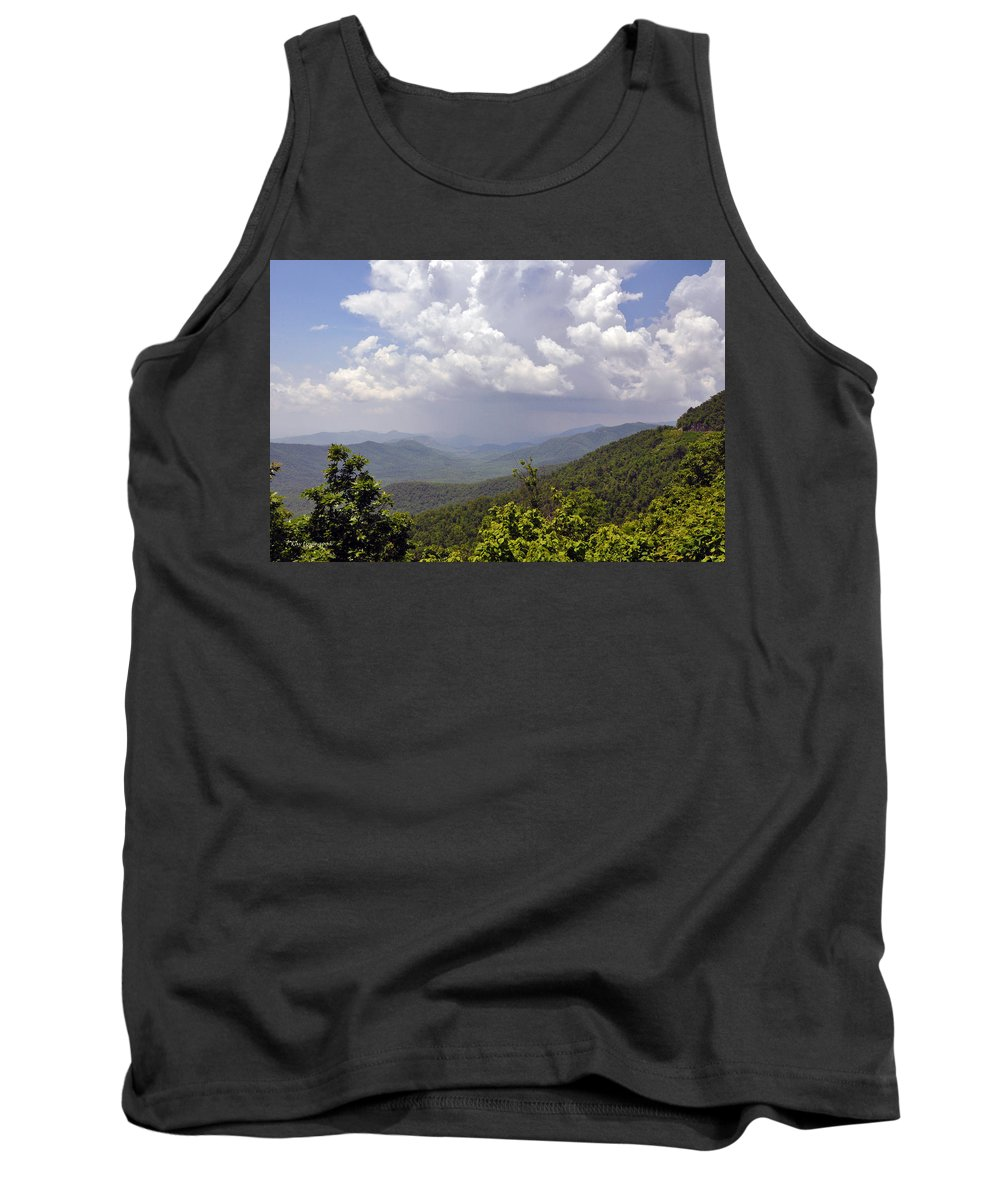 Landscape Tank Top featuring the photograph Storm Clouds by Kay Lovingood