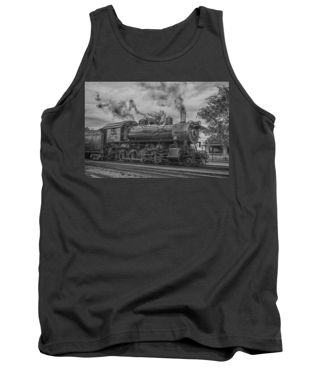 Guy Whiteley Photography Tank Top featuring the photograph Strasburg Rail 475 In Hdr by Guy Whiteley