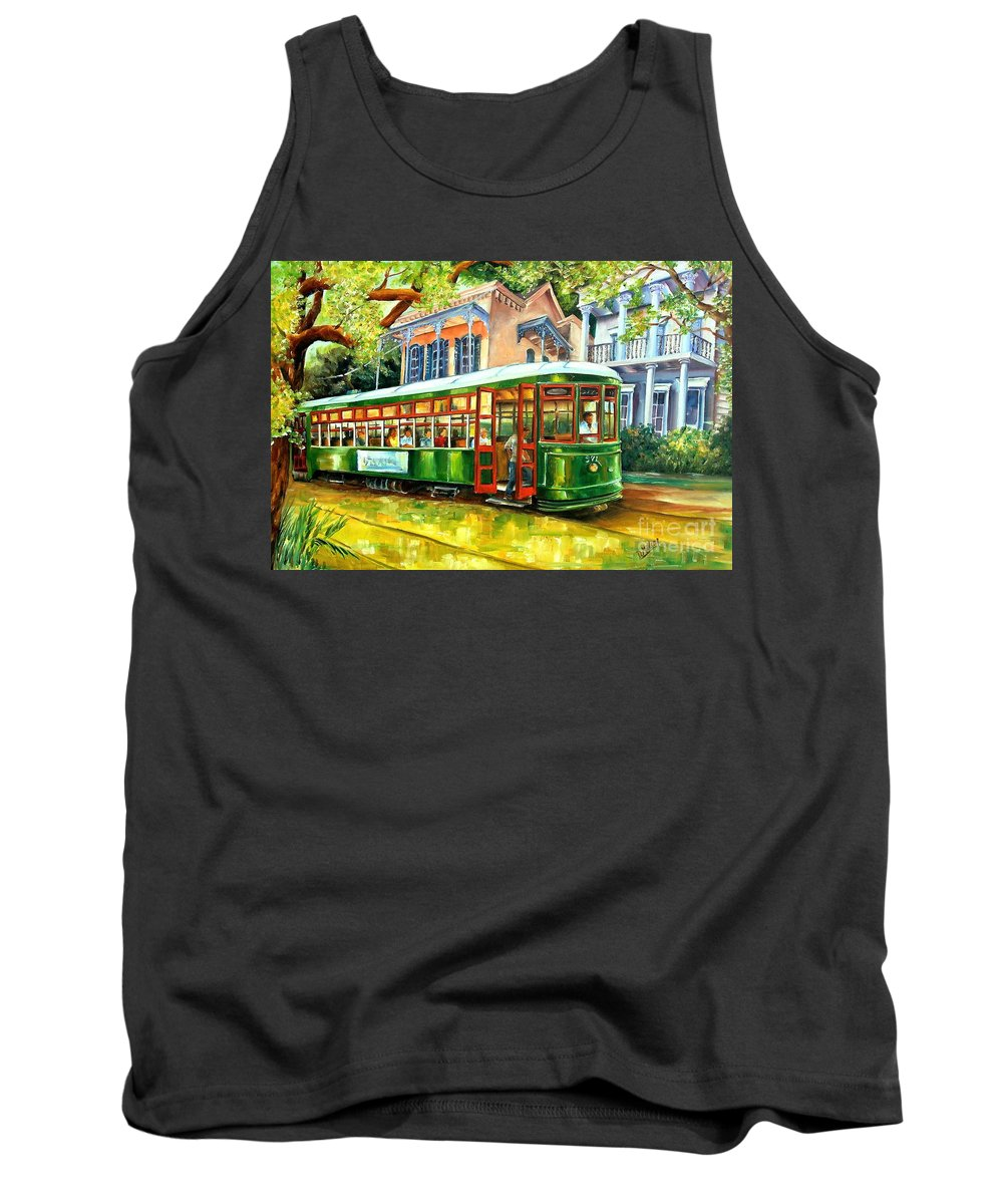 New Orleans Streetcar Tank Tops