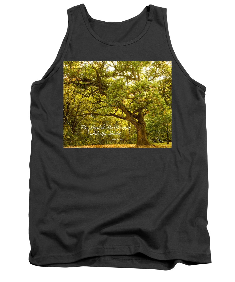 Tree Tank Top featuring the photograph Strength by Shari Brase-Smith