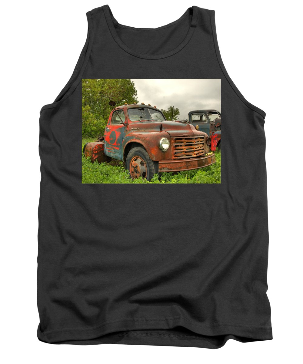 Studebaker Tank Top featuring the photograph Studebaker by Thomas Young
