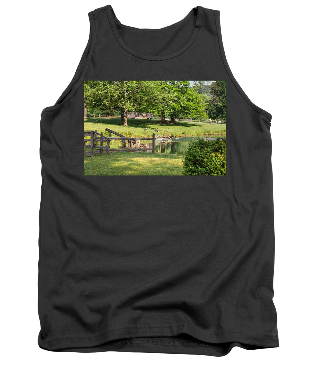Jackson's Mill Tank Top featuring the photograph Summer Dreaming by Mary Almond
