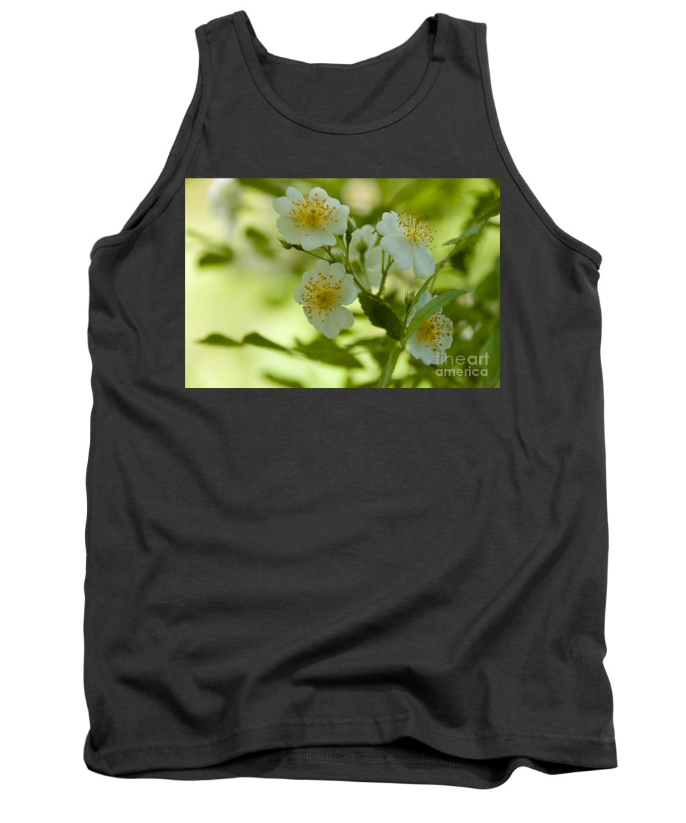 White Tank Top featuring the photograph Summer Flower by William Norton
