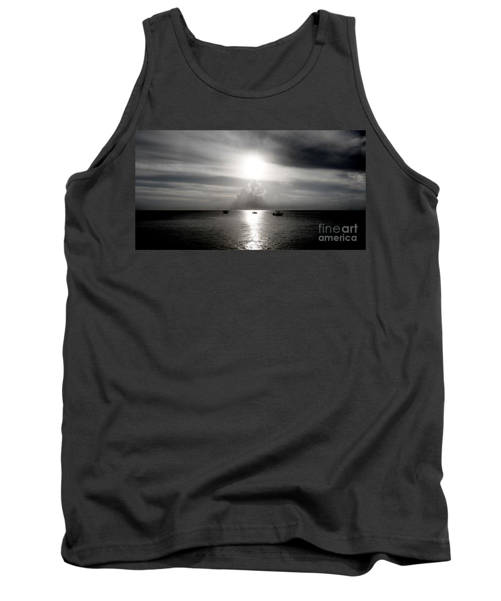 Color Tank Top featuring the photograph Sun Worship by Amar Sheow