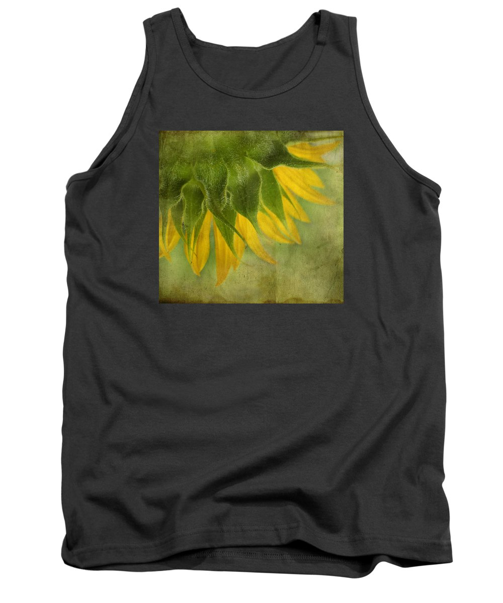 Sunflower Tank Top featuring the photograph Sunflower by Ivelina G