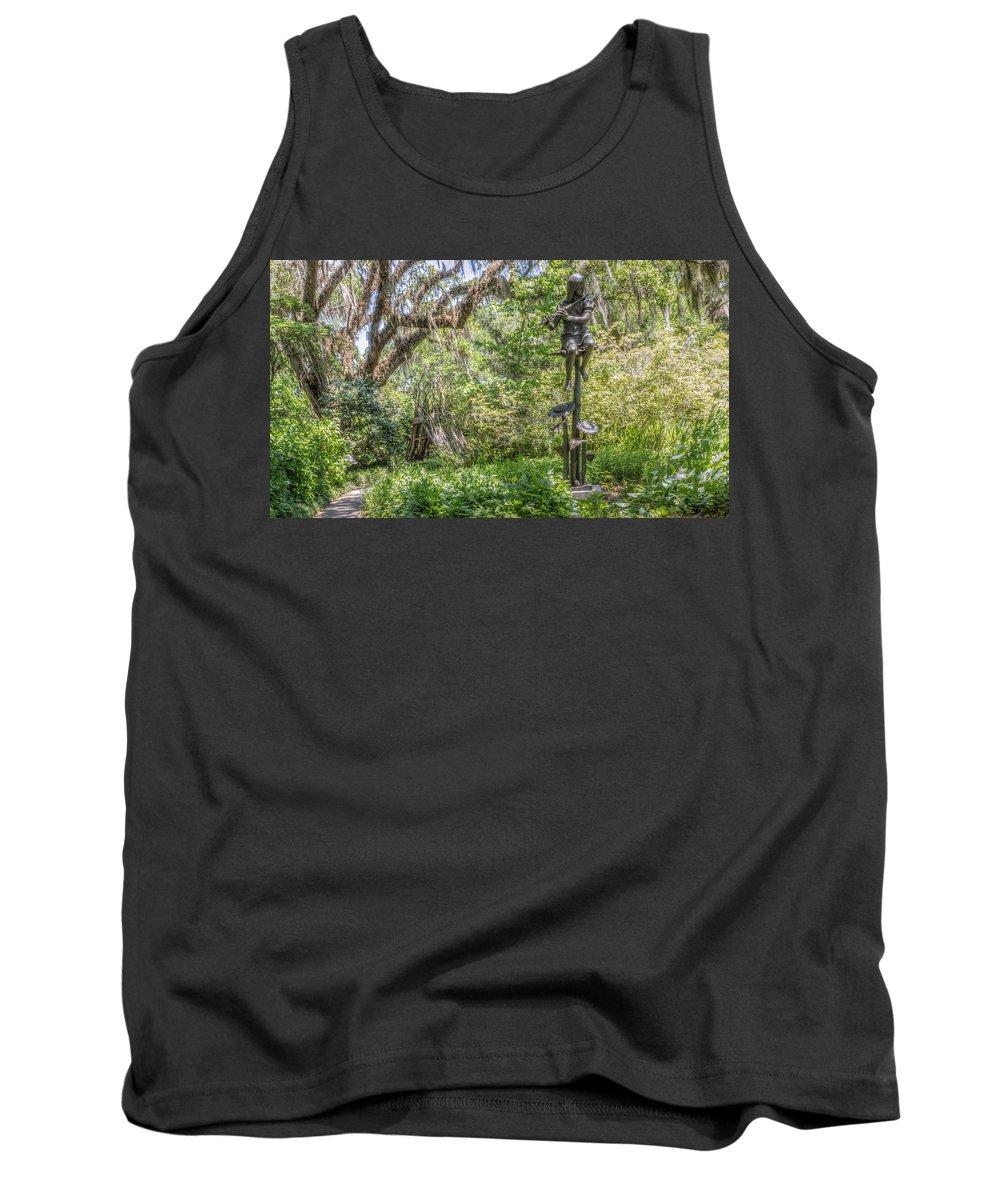 Summer Tank Top featuring the photograph Sunflowers by Rob Sellers