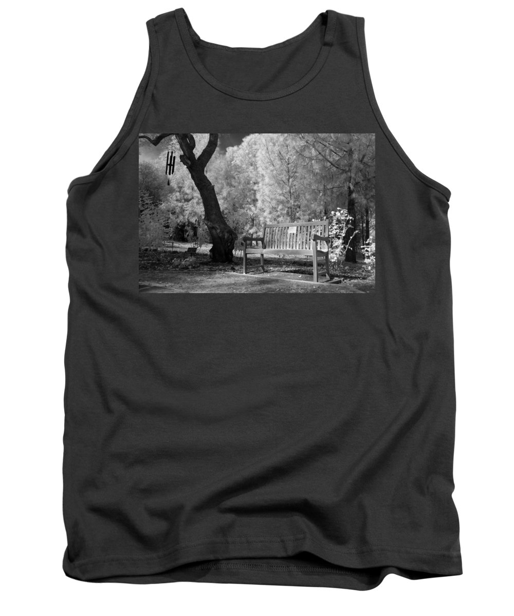 Tank Top featuring the photograph Sunny Seat by Jennifer Ann Henry
