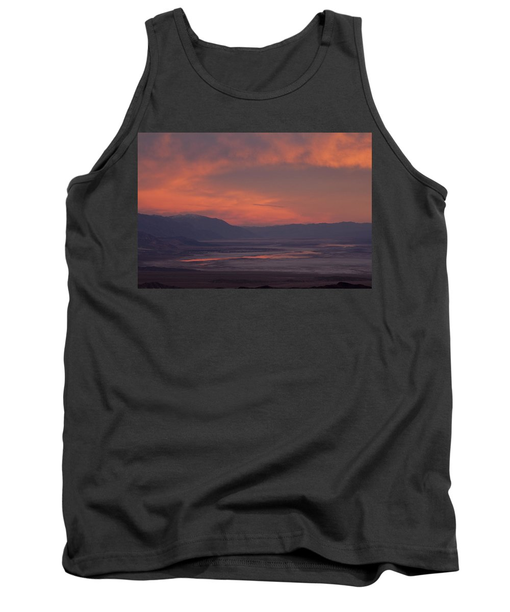 Sunset Tank Top featuring the photograph Sunset Death Valley Img 0277 by Greg Kluempers