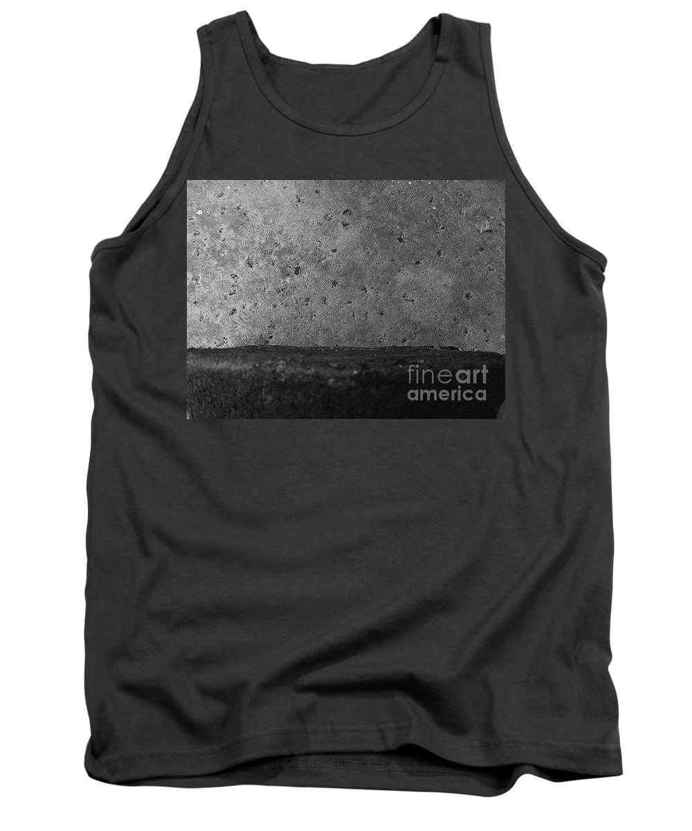 Black And White Photography Tank Top featuring the photograph Surface 2 by Fei A