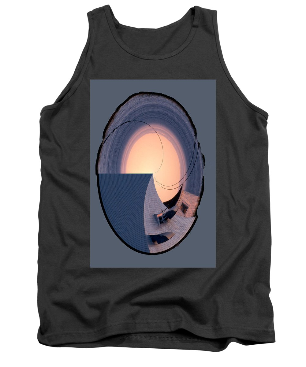 Swallowtail Tank Top featuring the photograph Swallowtail Lighthouse Fantash by Ana Gonzalez