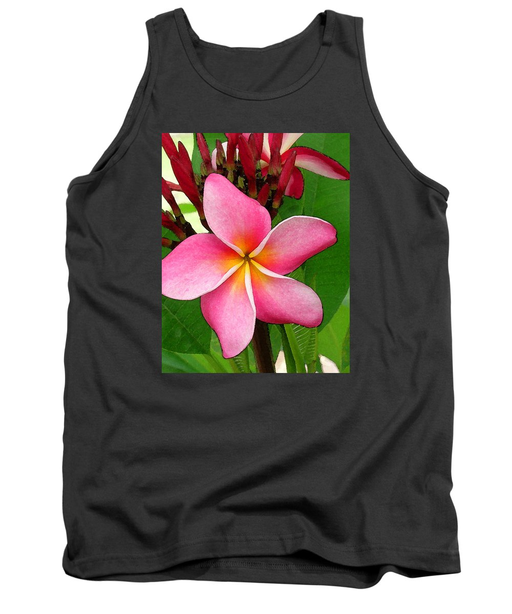 Plumeria Tank Top featuring the photograph Sweet Fragrance by James Temple